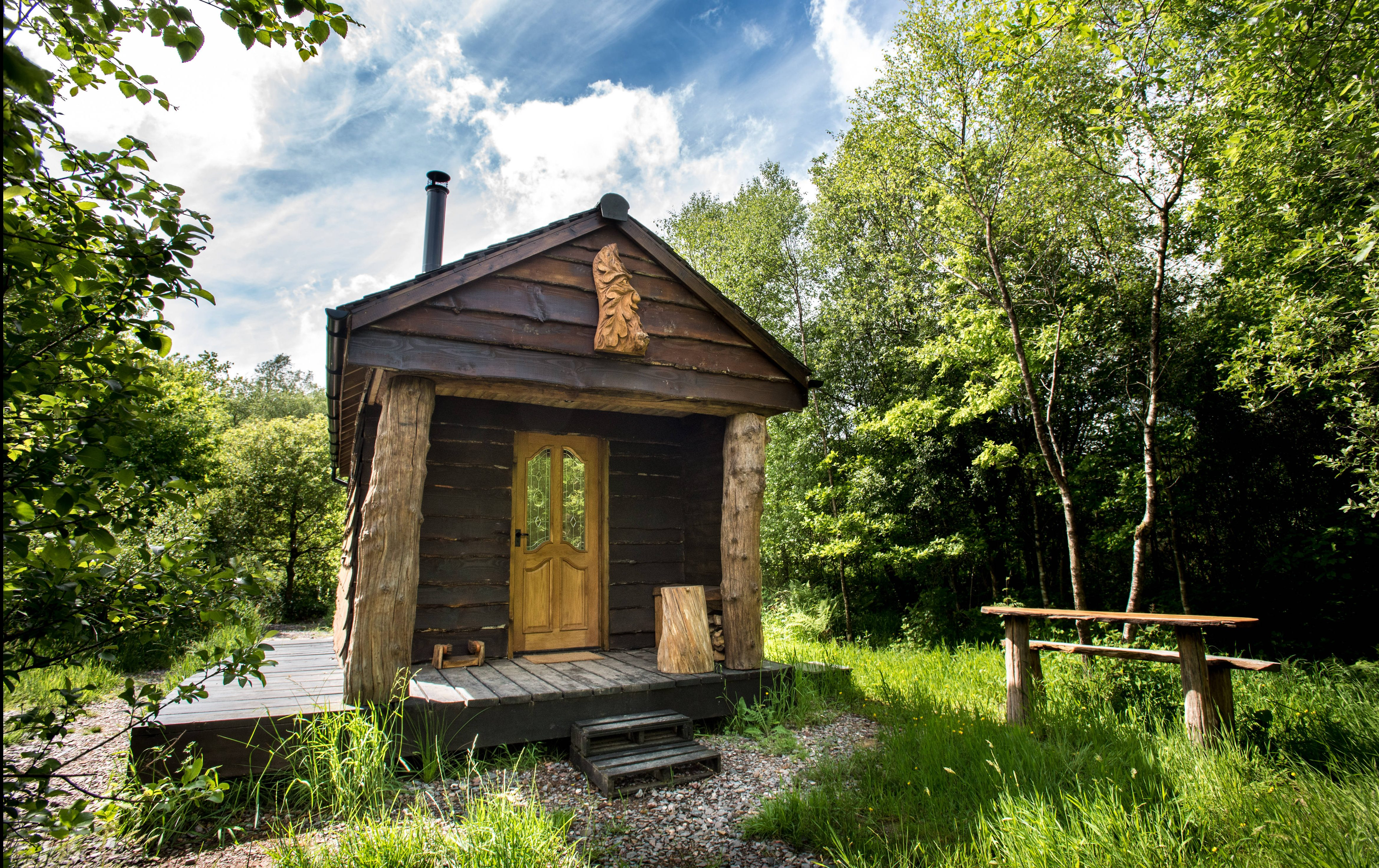 Bulworthy Project off-grid cabin