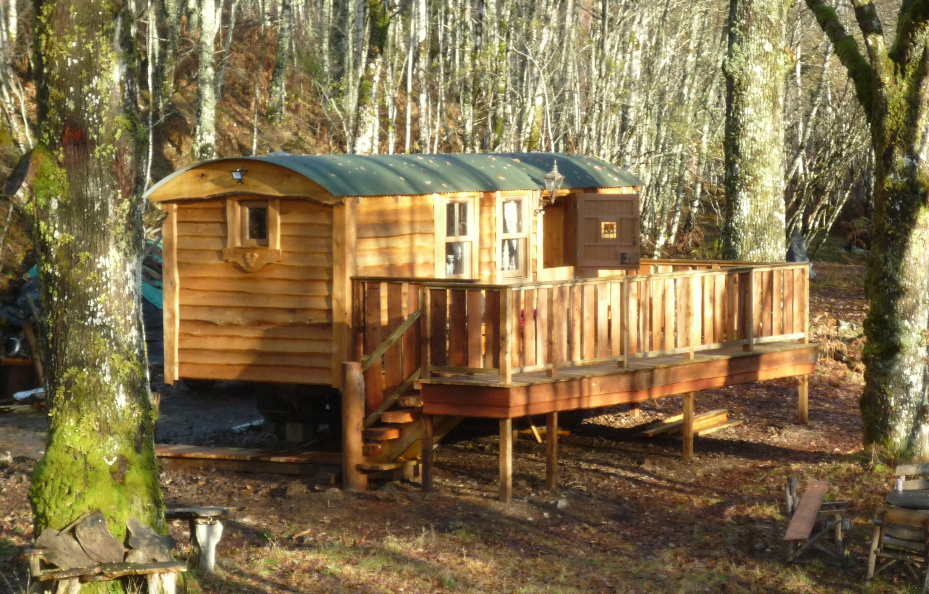 caledonian shepherds hut