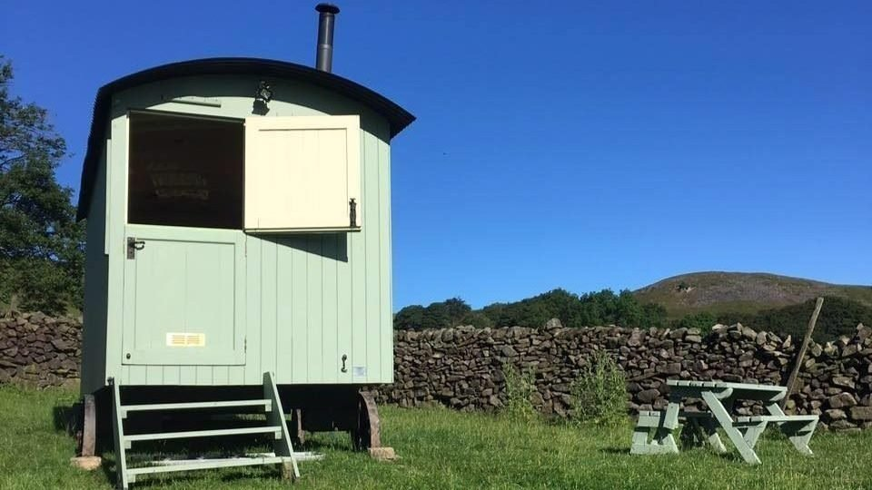 The Shepherds Hut at Haylee Farm
